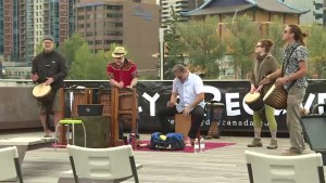 Calgarians band together during Recovery Day