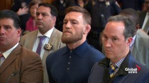 Conor McGregor attack: Judge sets MMA star's bail at $50K