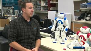 Edmonton researchers test AI robot's improv skills