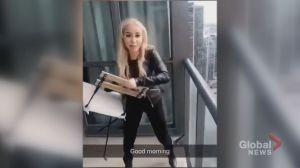 Woman facing 3 charges for alleged Toronto balcony chair toss