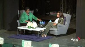 Oprah Winfrey tells Stacey Abrams about the moment she was most afraid in her life