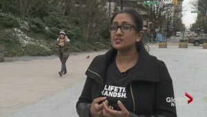 Toronto woman on cross-country handshake tour