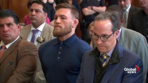 McGregor lawyer argues against travel restrictions: 'He's the most visible face on the planet'