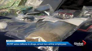 Ontario drug bust sees 11 charged, including 2 Sunwing Airlines employees