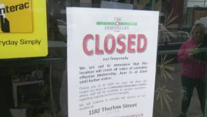 Vancouver cannabis store closes, and re-opens