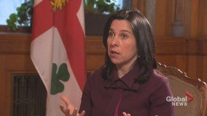 One-on-one with Montreal Mayor Valérie Plante