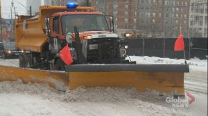 City of Toronto continues its winter cleanup after storm