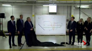 Doug Ford unveils massive GTA transit overhaul