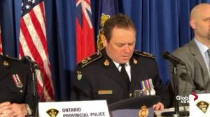 OPP say Ontario drug smuggling ring linked to Mexico