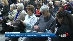 Quebec's flood victims demand answers about compensation