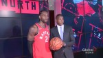 New Raptors superstar Kawhi Leonard says he wants to play in Toronto, has 'open mind' about staying