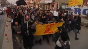 Protests in Jammu-Kashmir  over Saudi Arabia mass executions