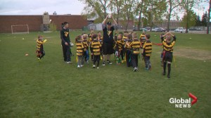Rugby growing in Calgary as great sport for kids to get their stress out