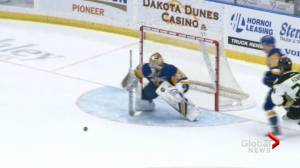 Saskatoon Blades goaltender Nolan Maier ready for playoff spotlight
