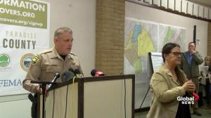California wildfires: Butte county sheriff says 'rain is of concern to us'