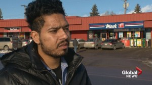 Calgary robbery victim recounts violent encounter with suspect