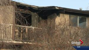 Morning house fires force two families from separate homes