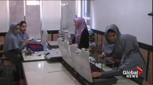 All-girl robotics team from Afghanistan arrives in Washington despite hurdles