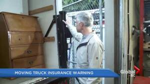 Family moves to B.C., has warning about moving truck insurance