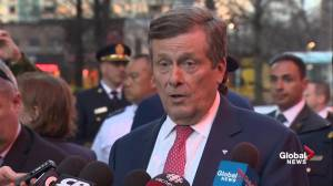 Toronto mayor John Tory says first responders in van attack behaved in 'heroic fashion'