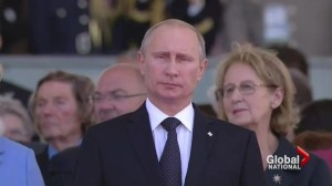 Harper's tough stance against Russia