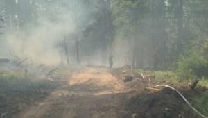 Wildfire smoky skies advisory
