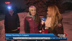 Cold weather running tips from Run Calgary