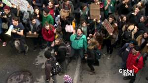 Quebec students strike for climate change