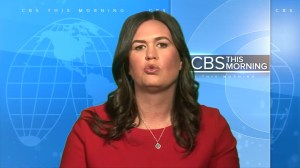 Sarah Sanders on defense after Mueller report