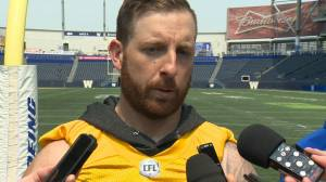 RAW: Blue Bombers Matt Nichols Interview – May 30