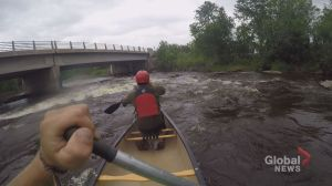 Putting you in the canoe – GoPro video shows class 2 rapids on the Whitemouth River