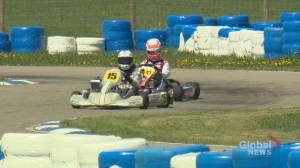 'The need for speed!': Young Calgary racers rev it up at major go-kart competition (01:59)