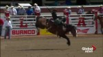 Father-to-be Zeke Thurston looks to make history at Calgary Stampede rodeo