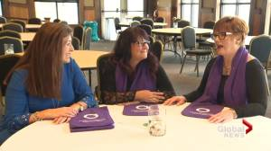 Pay equity, child care, effects of domestic violence topic of discussion on International Women's Day