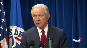 Sessions calls revised travel ban 'lawful,' defends national security
