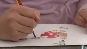 Sale of valentine cards helping the homeless