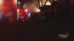 Video footage taken of fatal house fire