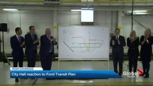 Skepticism and unanswered questions at Toronto city hall over transit plan