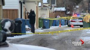 Police investigate suspicious death in northwest Calgary alley