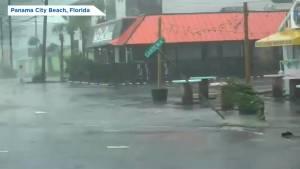 Hurricane Michael slams into Florida Panhandle
