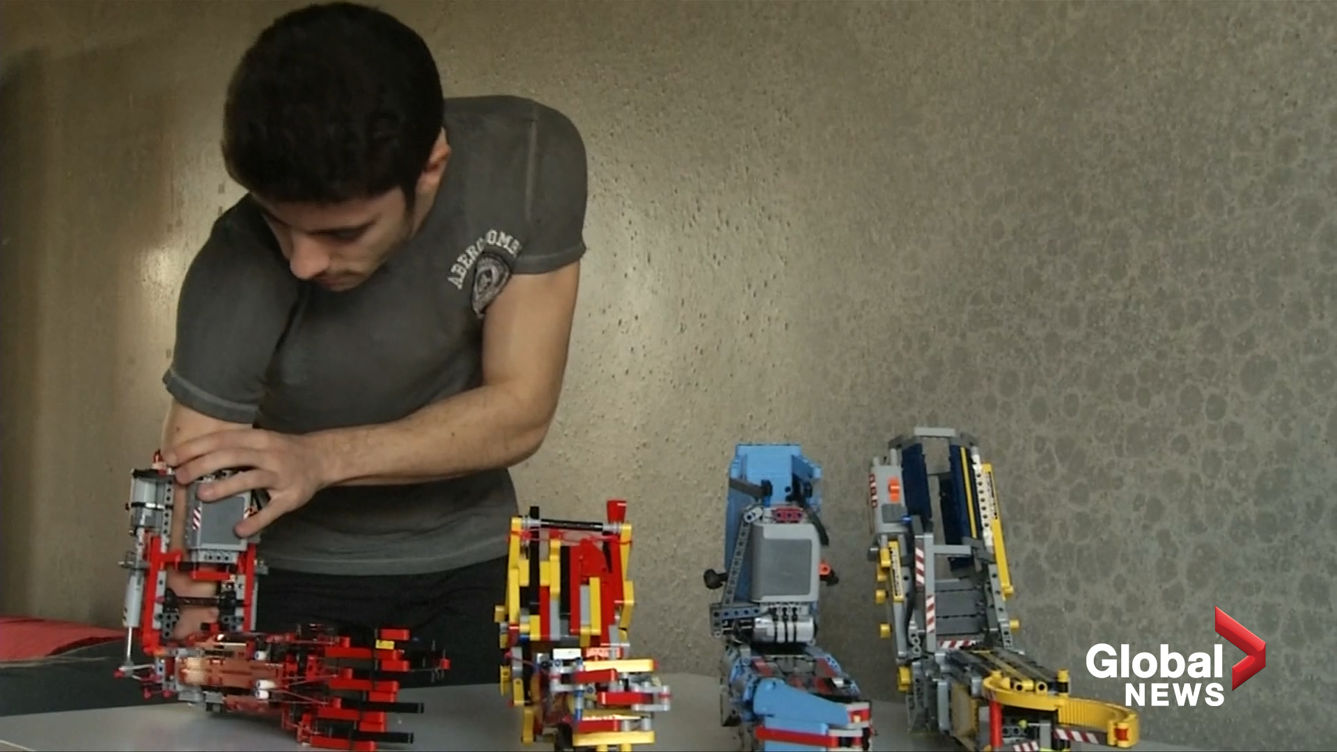 Brick by Lego brick, teen builds own prosthetic arm