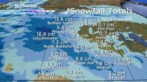 Saskatoon weather outlook: snow for Halloween, big cool down ahead