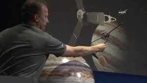 'We're going into unknown territory':  Juno lead investigator on satellite entering Jupiter's orbit