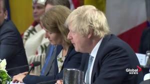 Boris Johnson praises 'Olympic Truce' between North and South Korea