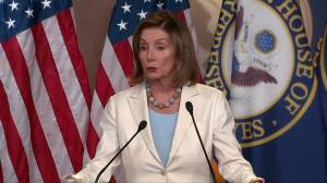 Pelosi says House will 'deal with' impeachment resolution