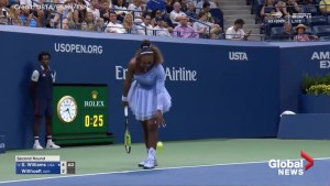 Serena Williams wears tutu in U.S. Open win after controversy over her previous attire