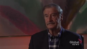Vicente Fox blasts 'crazy, ignorant' Donald Trump who 'lies all day'