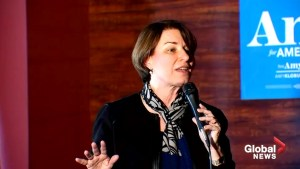 Klobuchar in Iowa: 'we need to pass a constitutional amendment to overturn Citizens United'