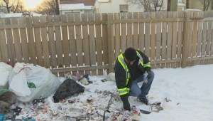 Needles and drug paraphernalia littering streets of Winnipeg