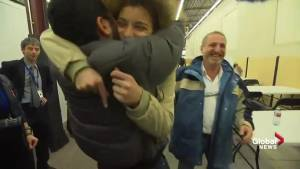 Emotional moments were palpable as Montreal family reunites with Syrian refugees